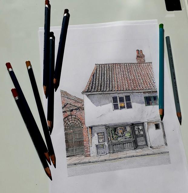 Some colour pencil practice