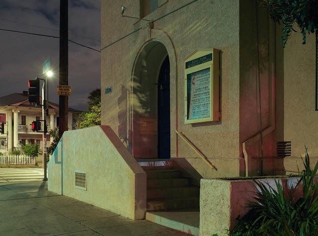 Echo Park night church