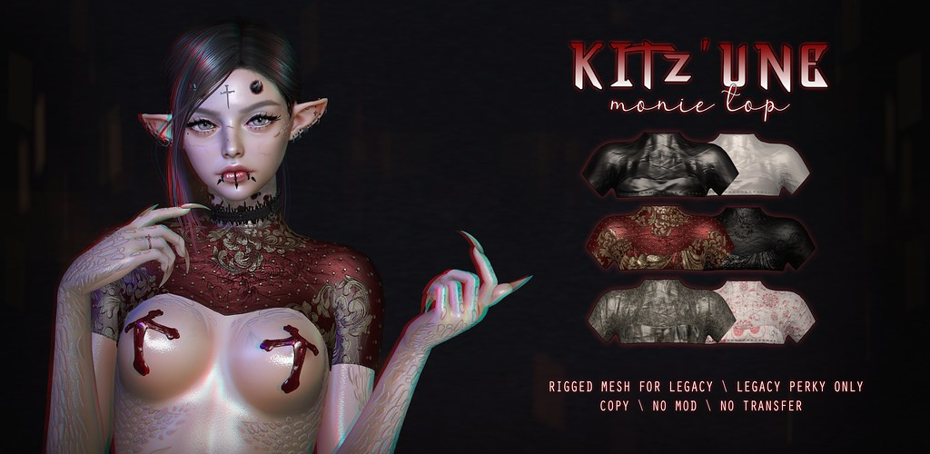 KITZ'UNE – Monie Top @Warehouse