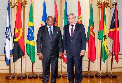 21.06. Secretário Executivo recebe Secretário-Geral da Organização dos Estados da África, Caribe e Pacífico