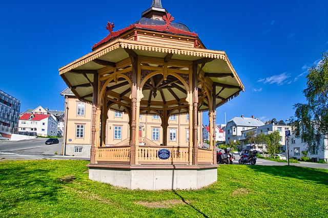 Norwegen - Tromsø, Rådhusgata Pavillon
