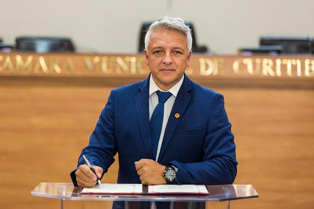Jornalista Márcio Barros (PSD)
