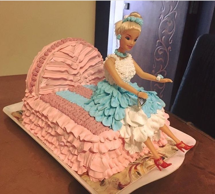 Doll Cake by Aarti Sanwal