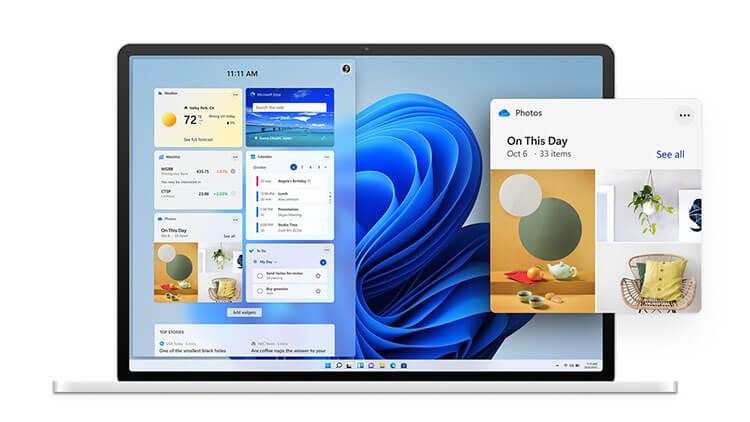 Windows 11 features