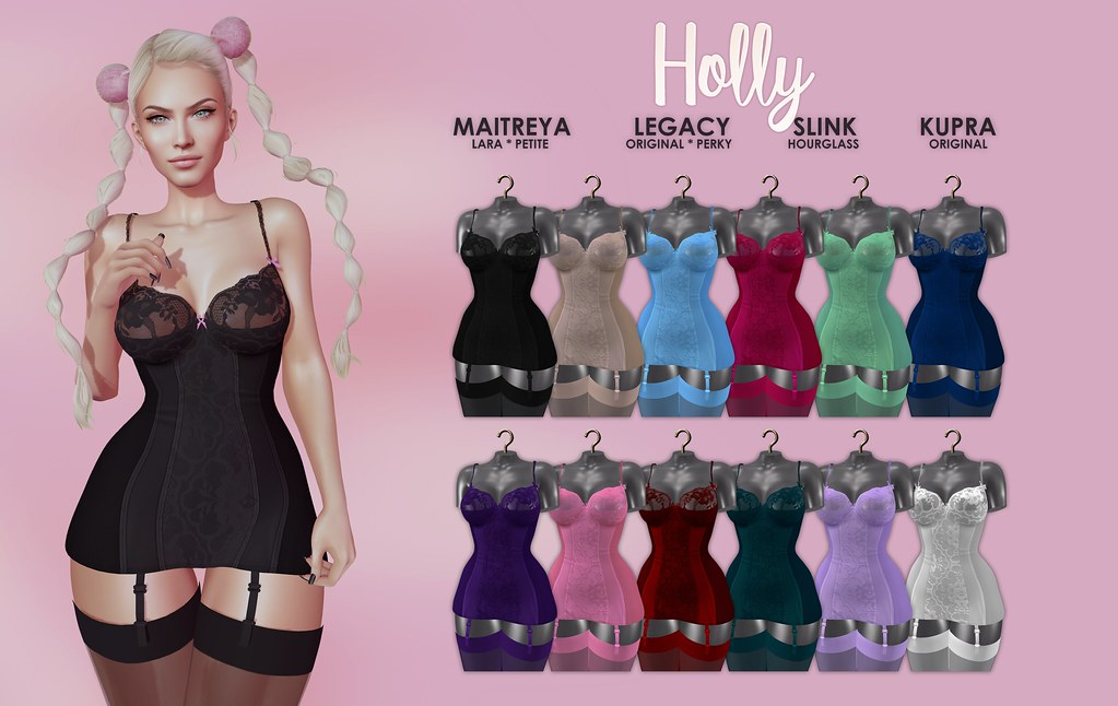 MAAI Holly negligee + GIVEAWAY