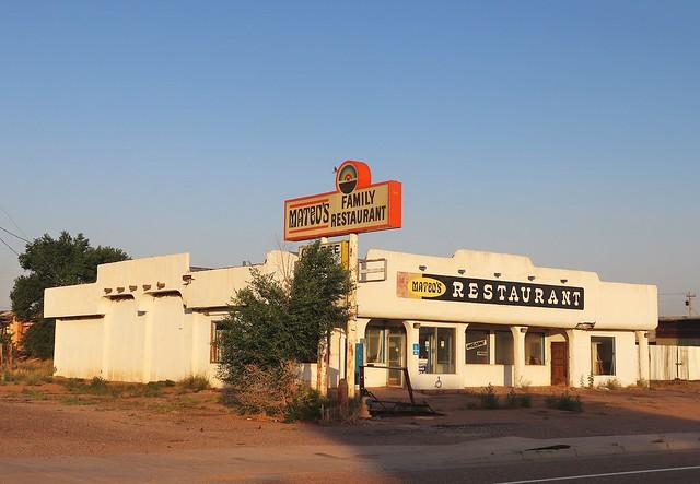 Abandoned Restaraunt in Santa Rosa New Mexico
