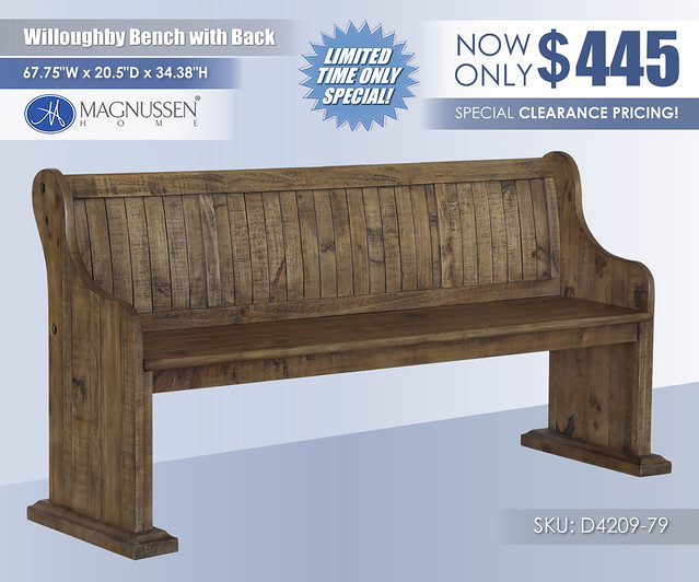 Willoughby Bench with Back_D4209-79