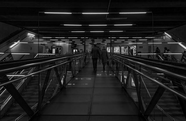 U Bahn Station Marina