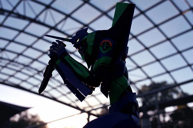 Dynaction Evangelion Unit-01 - V