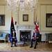 PM Boris Johnson in Bilat with Libya PM Abdul Hamid Dbeibeh