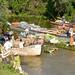 Warentransport auf dem Pangalanes Kanal im Osten von Madagaskar