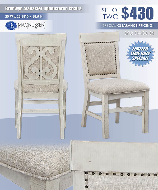 Bronwyn Alabaster Upholstered Chairs_D4436-63
