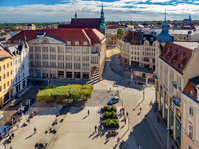Görlitz - ehemaliges Warenhaus zum Strauß