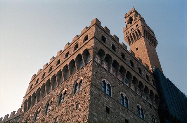 Palazzo Vecchio, Morgenstimmung in Florenz