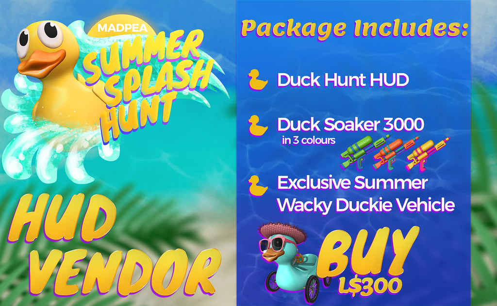The Summer Splash Hunt Has Officially Begun! **24-HR GIVEAWAY**
