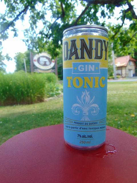 Dandy gin tonic