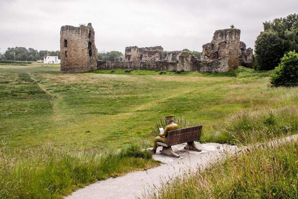 2021 - 06 - 24 - EOS 600D - Letters from Home - WW1 Soldier - Wooden Sculpture - Wales Coast Path - Dee Estuary - Flintshire - 006