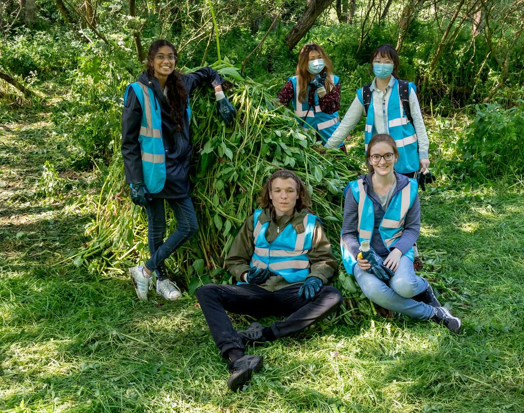 Balsam Bashing - Canley Brook - The-Shrubberies - 23 Jun 2021
