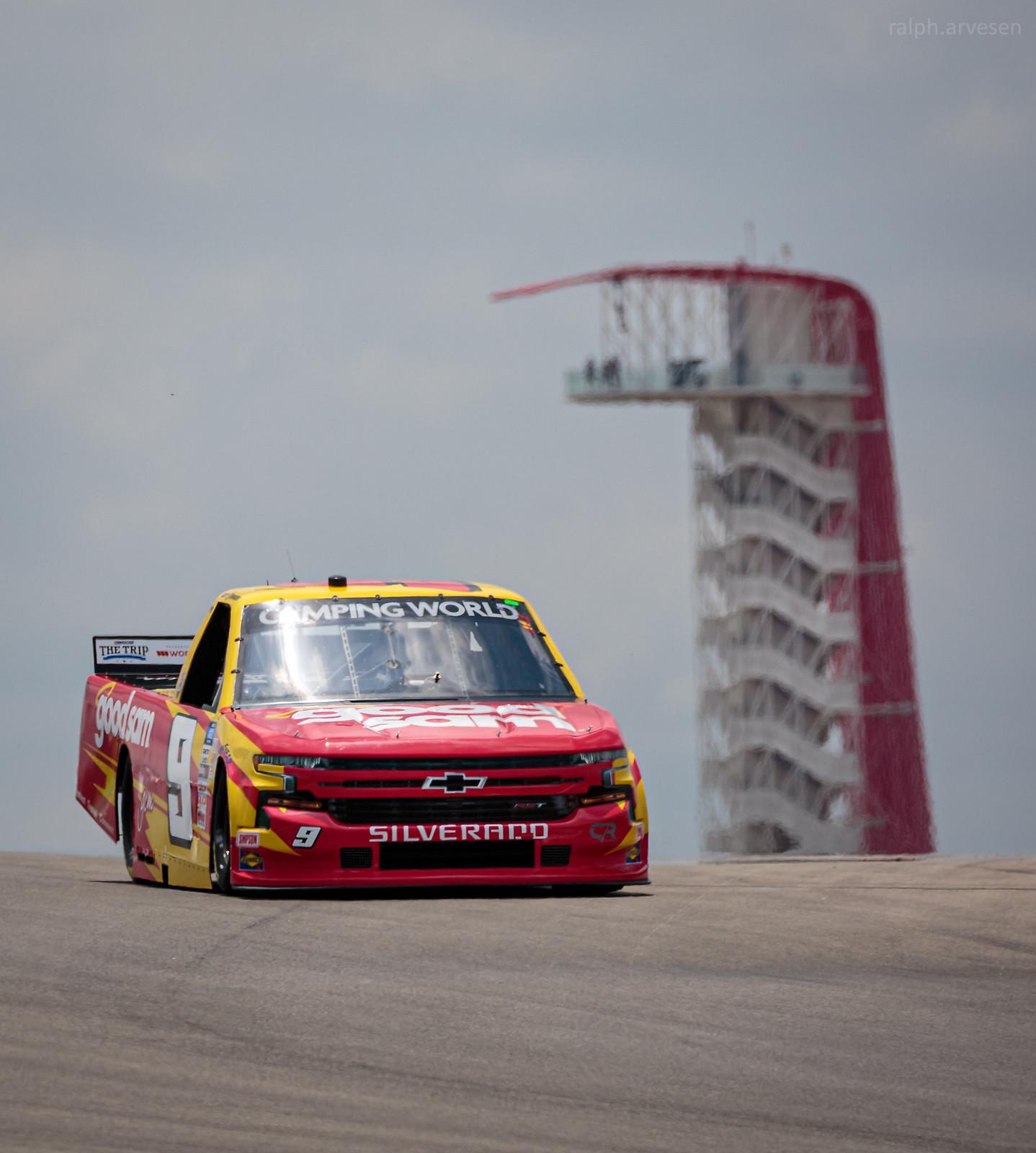 NASCAR Camping World Truck Series | Texas Review | Ralph Arvesen