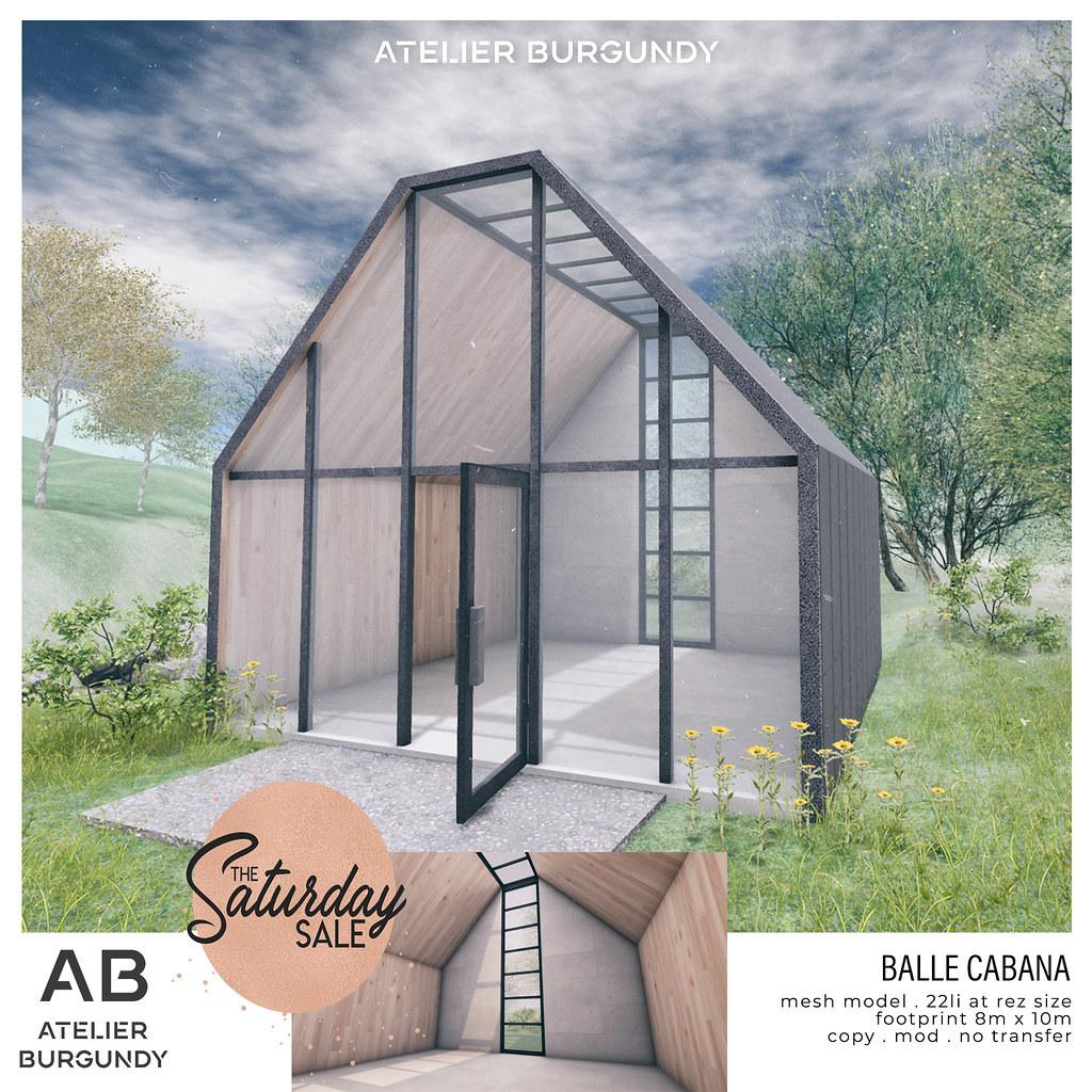 Atelier Burgundy . Balle Cabana TSS