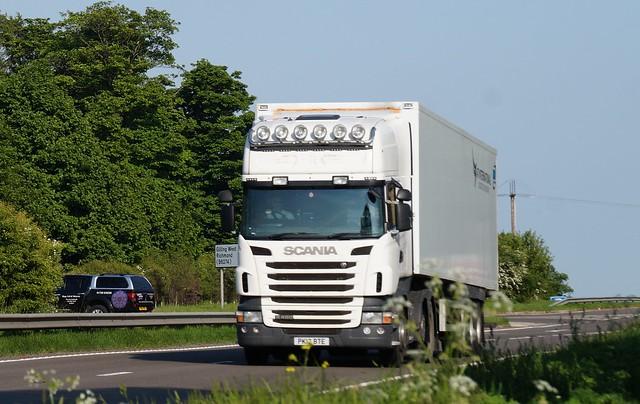 3 DSC08334,  A66 Trucks, Hargill, North Yorkshire. SCANIA.