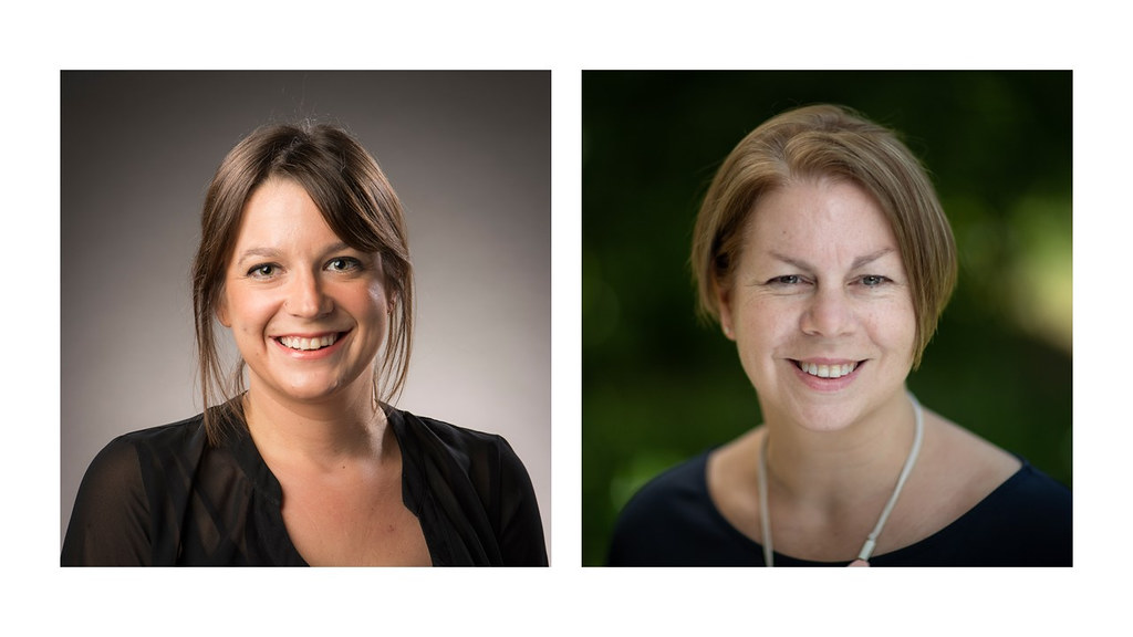 Dr Rachel Hiller (Bath - left), and Dr Lisa Holmes (Oxford - right).
