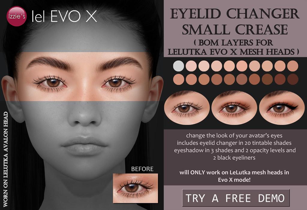 Eyelid Changer Small Crease (LeLutka Evo X)
