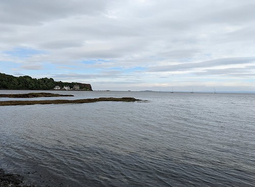 Firth of Forth, Aberdour beach, Fife