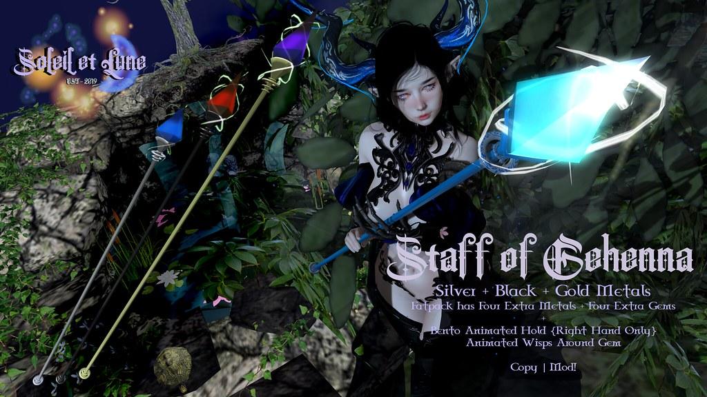 {Soleil et Lune} Gehenna Staff @ Halo Event