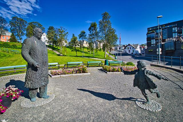 Norwegen - Tromsø, Kongsparken