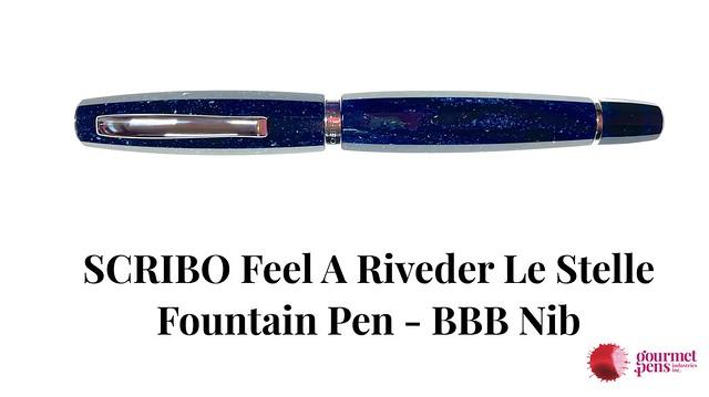 SCRIBO Feel A Riveder Le Stelle Fountain Pen - BBB Nib