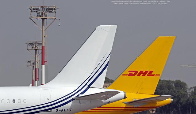 G-KELT LMML 24-06-2021 Acropolis Aviation Airbus A320-251NCJ CN 8403