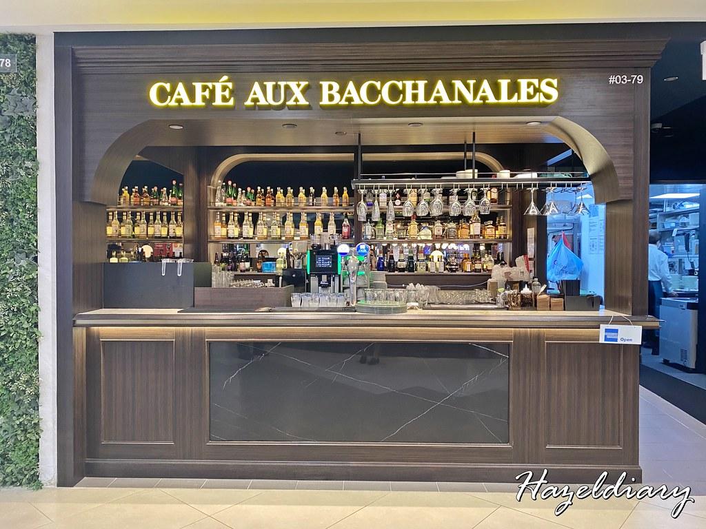 cafe aux bacchanales Plaza Singapura