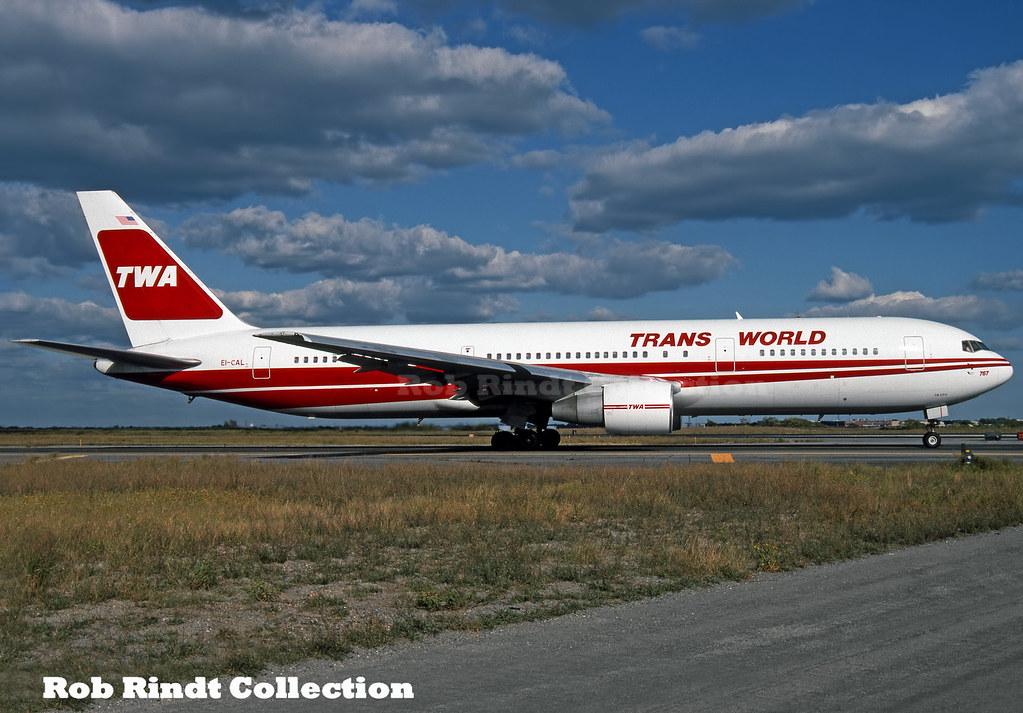 TWA B767-3YO/ER EI-CAL