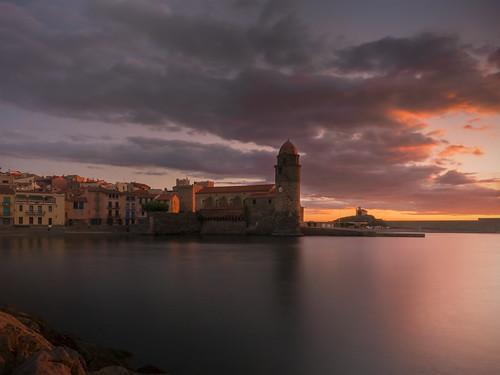 collioure albada amanecer sunrise france francia frança
