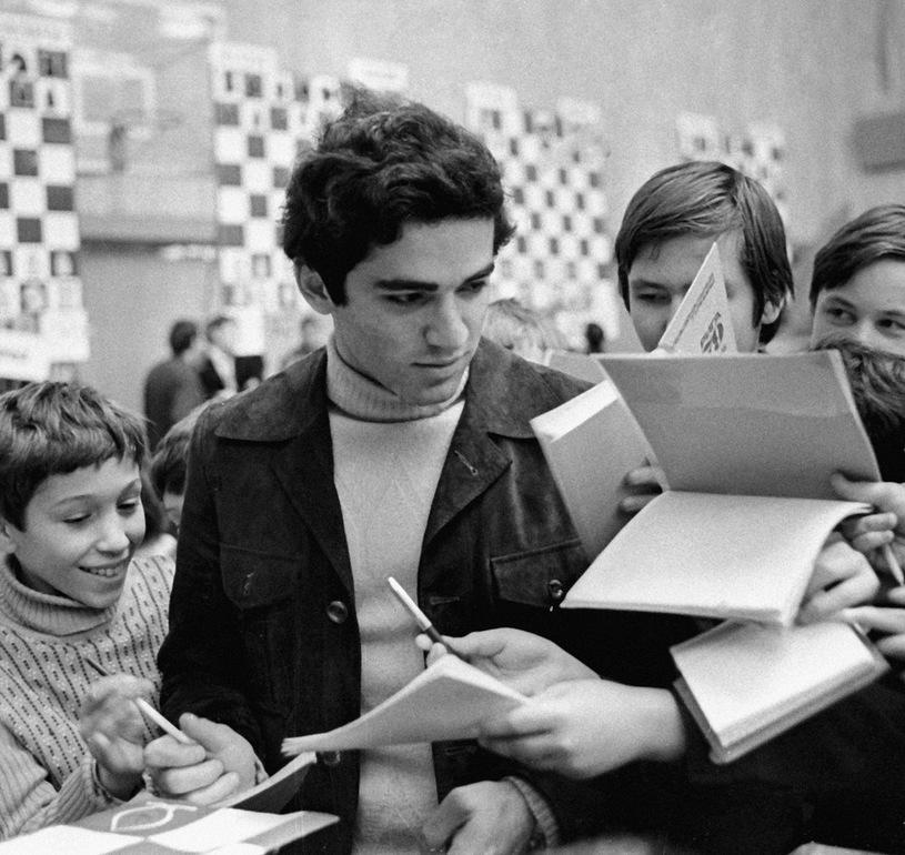 1979. Мастер спорта по шахматам Гарри Каспаров