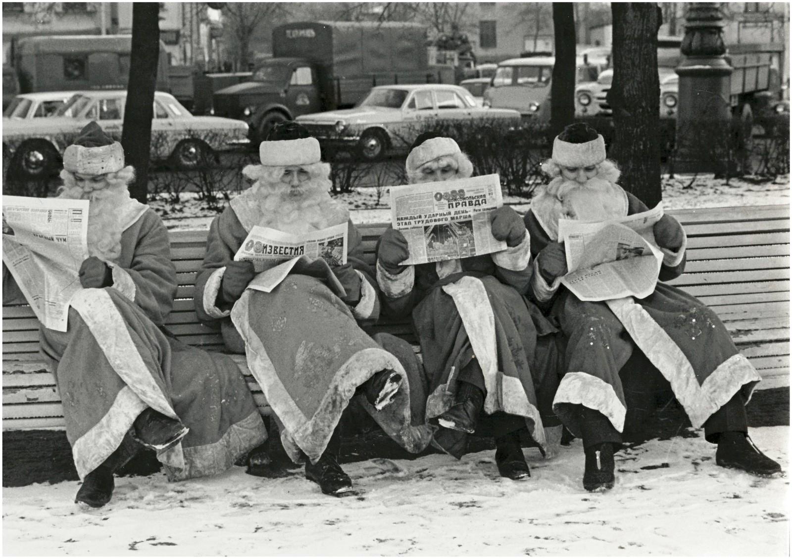 1972. Деды Морозы, 27 декабря