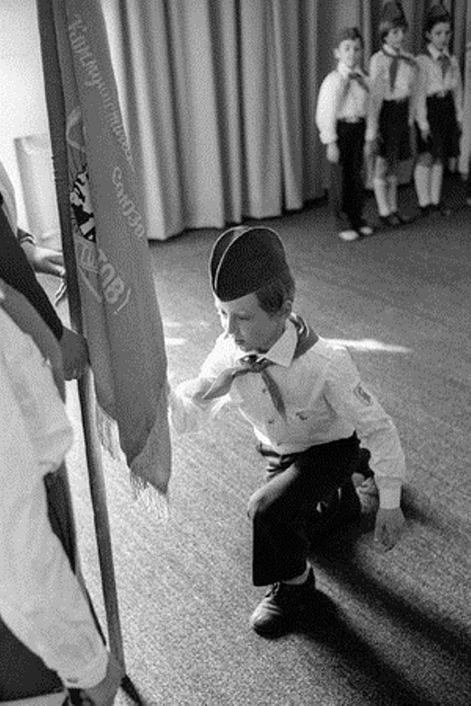 1970. Торжественный приём в пионеры