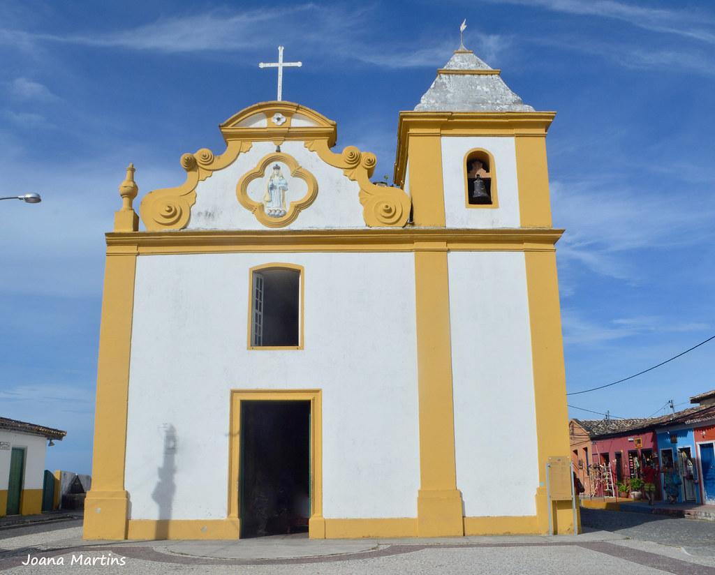 Igreja Nossa Senhora d'Ajuda - Arraial d'Ajuda-Bahia