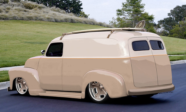 47'Ford Panel Truck