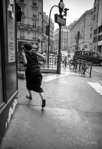 la pluie arrive...