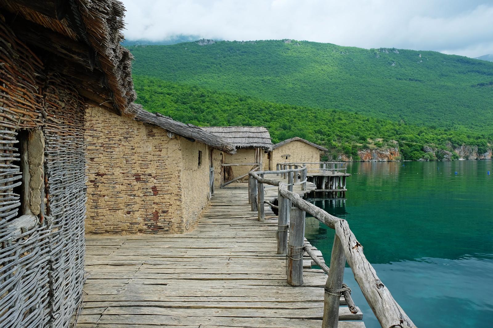 Bay of Bones, Lake Ohrid, North Macedonia
