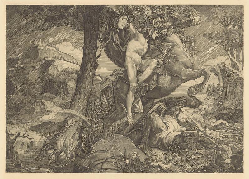 Johannes Josephus Aarts - Perseus and the Sea Monster, 1881-1934