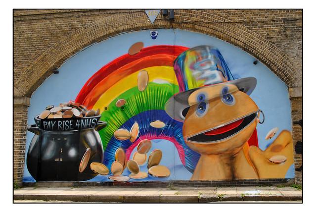 LONDON STREET ART by FANAKAPAN