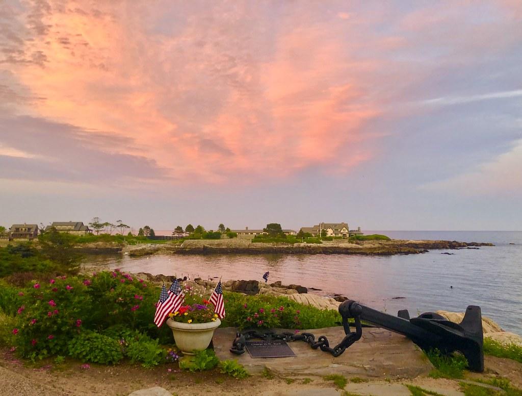 Sunset over Walker's Point