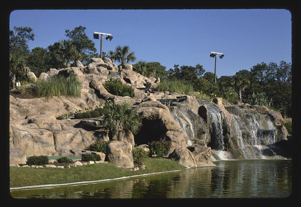 Waterfall 2, Treasure Island Golf, Myrtle Beach, South Carolina (LOC)
