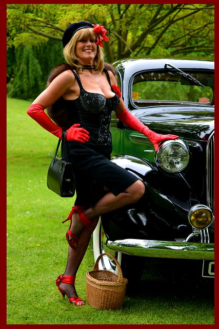 A French Mademoiselle   1940s style
