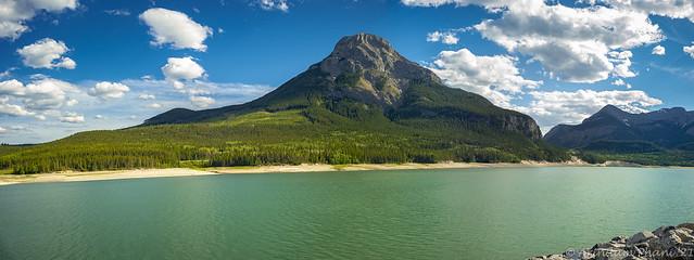 Mt.Kidd & Barrier Lake
