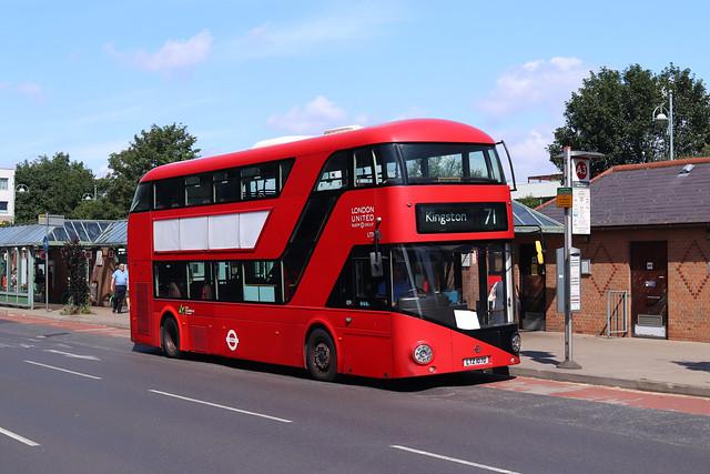 Route 71, London United, LT70, LTZ1070