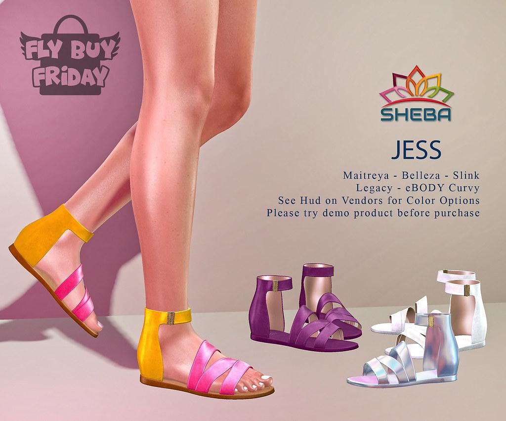 [Sheba] Jess Sandals @FBF SALE!